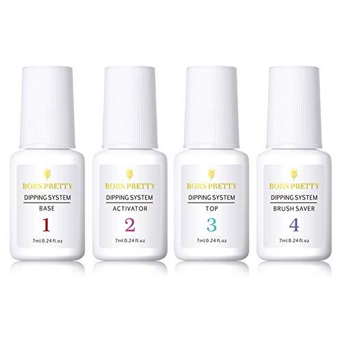 BORN PRETTY 7ml Liquido Acrilico Unghie Dipping Powder System Liquid Clear Nail Art Manicure Gel Polish No UV Lamp Needed