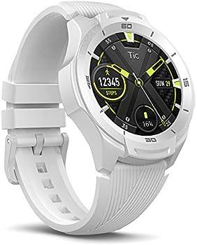 TicWatch S2 Waterproof Wear OS Smartwatch (Glacier White)