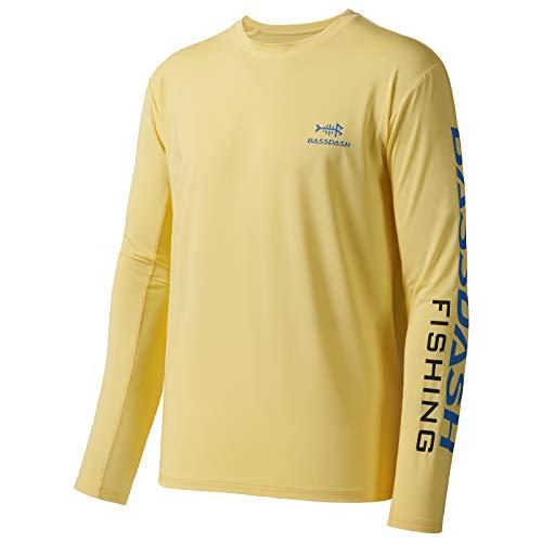 Bassdash T-Shirts de pêche pour Hommes Protection...