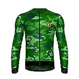 Uglyfrog 2019 Maglia Ciclismo Maniche Lunghe Uomo Cycling Jersey per MTB/Montagna/Triathlon Abbigliamento