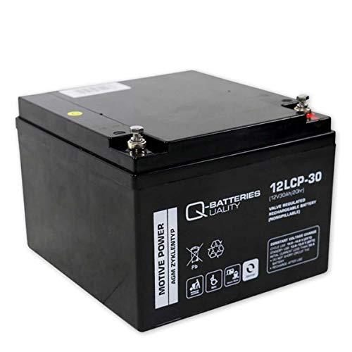Akku Batterie Auto Zusatzbatterie Car HiFi Endstufe Verstärker 12V 30Ah Blei Bleigel wie 26Ah 27Ah 28Ah 29Ah kompatibel