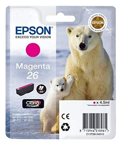 C13T26134010 Epson Expression Premium XP-600 Cartucho de Tinta Magenta