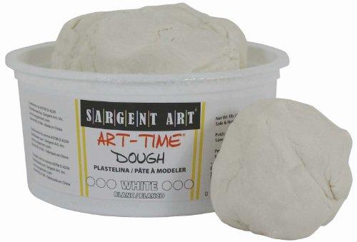 Sargent Art 85-3196 1-Pound Art-Time Dough, White