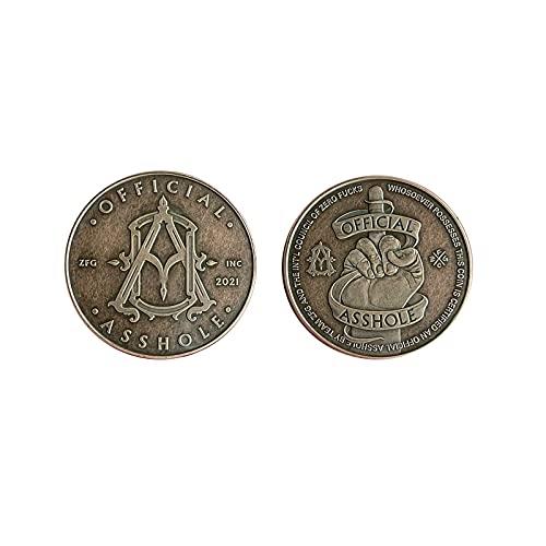 2021 Offizielle Bastard Münze, Ich Bin Der Bastard Mittelfinger Retro Gedenkmünze. Ich Wünsche Ihnen Einen Guten Tag, Bastard Neuheit Münze, Europäische Und Amerikanische Retro Gedenkmünze (A)