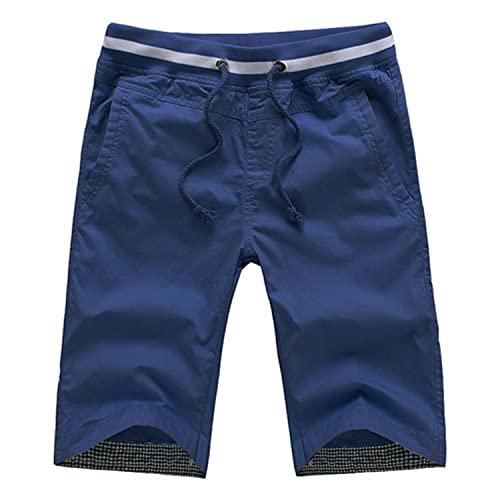 Mily 2021 Algodón Hombres Pantalones Cortos Homme Beach Slim fit Bermudas Masculina Joggers S-4XL CYG192