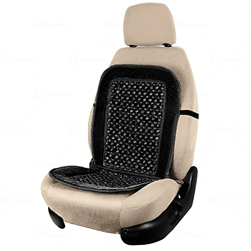 Taylor & Brown Universal Beaded Seat Cushion Cover Massaging Relax Front Chair Improve Posture and Comfort, Ideal For: Cars, Van s, 4x4 s and Caravan s