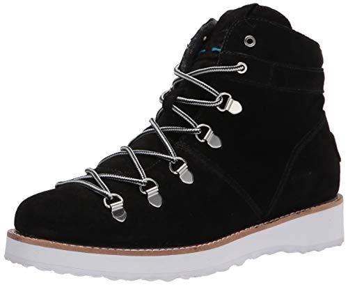 Roxy womens Spencir Waterproof Suede Boot,Black,7 M US