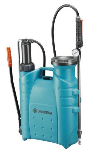 Gardena Comfort Rückenspritzgerät 12 l: Drucksprühgerät zur Pflege von Pflanzen/Obstgehölzen, auch für Linkshänder, Teleskop-Sprühlanze (885-20)