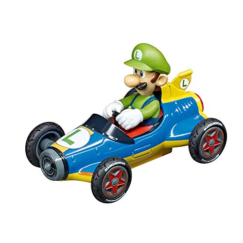 Carrera 20064149 Nintendo Mario Kart Mach 8-Luigi, Mehrfarbig