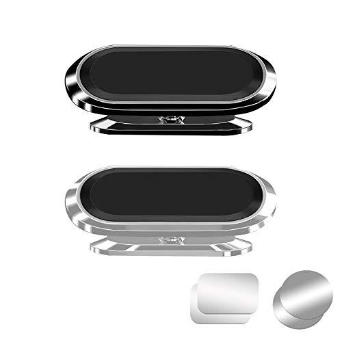 ZXK CO Handyhalterung Auto Magnet, 2 Pack Handyhalter Fürs Auto, 360 Grad Einstellbar KFZ Handyhalterung Auto Universal Magnetische Handy Halterung Kompatibel mit iPhone SE 12 11 Pro XS Max XS 8 7 usw