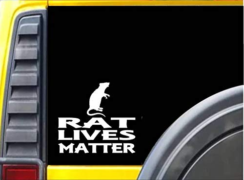 Rat Leeft Matter Sticker 6 Inch Aquarium Hamster Stickers