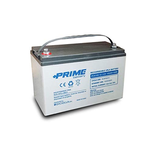 Batería solar AGM 100 Ah 12 V Deep Cycle Vehículos eléctricos instalaciones...