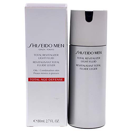 Shiseido Men Total Revitalizer Light Fluid, 80 ml, Pack de 1