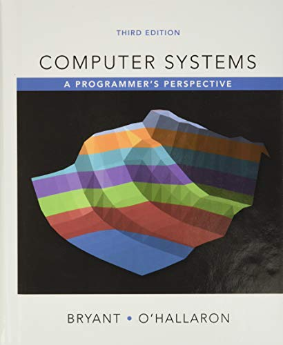 Computer Systems: A Programmer's...