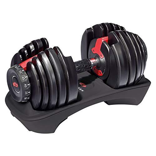 ボウフレックス(Bowflex) 可変式ダンベル アジャストダンベル 15段階 2kg~24kg SelectTech Dumbbell(セレクトテックダンベル)(単品販売) 552i