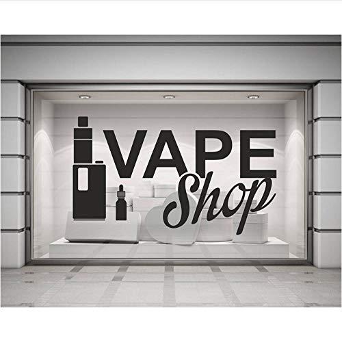 Kreative wandVinyl Wandtattoos Shop Zeichen Poster Wandaufkleber Dekoration Abnehmbare Elektronische Zigarette Kunst Aufkleber Tapete