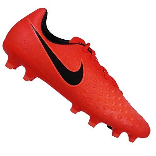 Nike–Scarpe da calcio Magista Opus II FG 844415–808, Bambini, TOTAL CRIMSON/BLACK-BRIGHT
