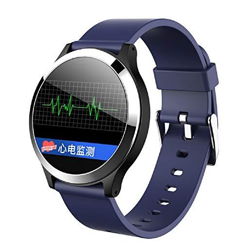 CUIYAN Intelligentes Armband, EKG + PPG-EKG-Blutdruck, Herzfrequenz, intelligente Erinnerung, Schlafüberwachung, Schrittuhr,3