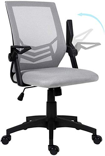 Office Chair mesh Chair Ergonomic Office Chair Computer Chair with Lumbar Support Executive with tilt Function Black