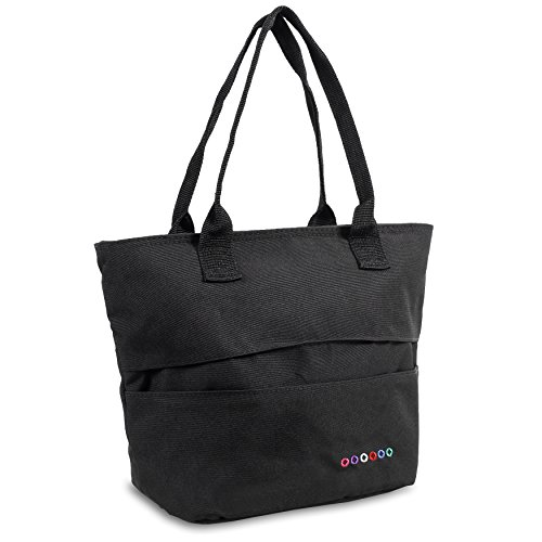 J World New York Lola Lunch Tote Bag, Black, One Size