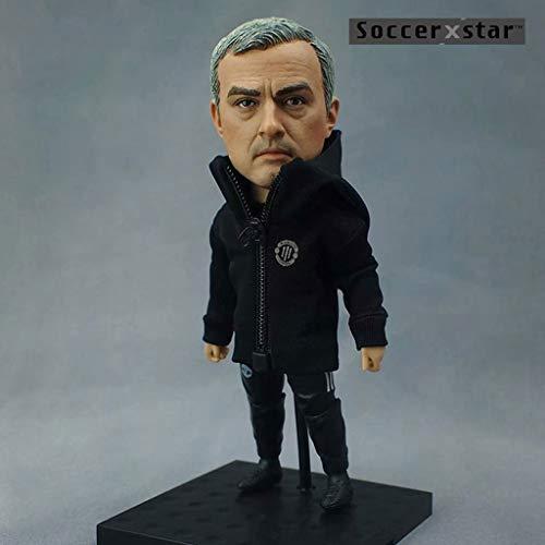 CQ Figura de acción de la Estrella de fútbol José Mourinho 1/6 del colector de Entrenador de fútbol Manchester United/Objetos de colección for Ventilador de fútbol/decoración del Tablero de instru