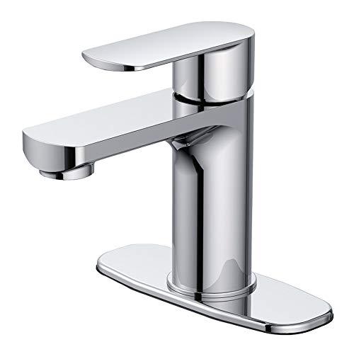 Jacuzzi Primo Chrome 1-Handle Single Hole/4-in Centerset Bathroom Faucet FS1AL000CP