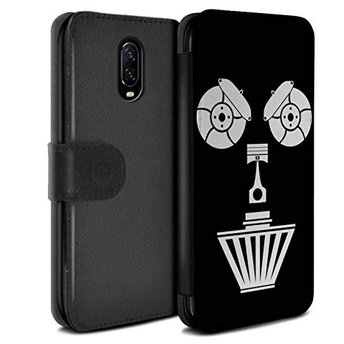 ESwish PU Leather Case/Cover/Wallet/OTH-PSW/Car Part Faces Collection OnePlus 6T Luchtfilter.