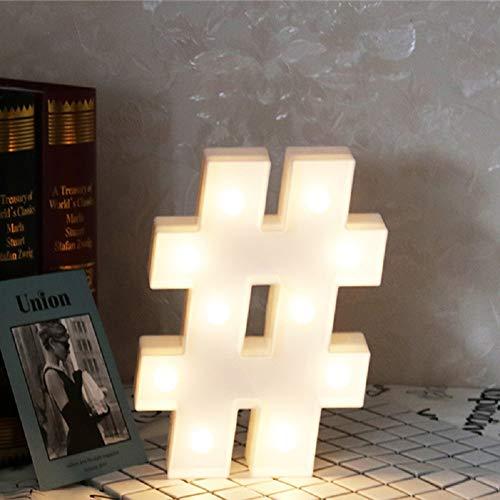 Leuchtende Buchstaben LED Schild Festzelt Buchstaben mit Lichtern Alphabet Zahlen Lampe Beleuchtet Wörter stehend hängend A - Z Hochzeit Geburtstag Party Bar Wand Dekoration Licht Warmweiß#