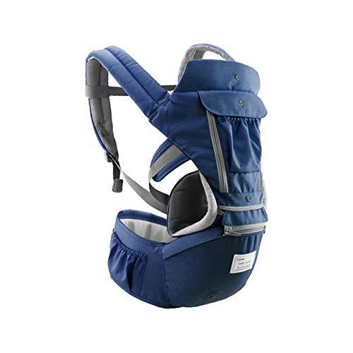 Bolsa canguru ergonômico bebê azul mamãe 12 posições 3 em 1