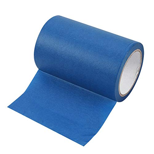 ASHATA 160mmx30m Blue Adhesive Tape,3D Printer Blue Painter Tape Masking Tape, Masking Paper Painters Tape Sticky Malerband Tape for Makerbot 3D Printer