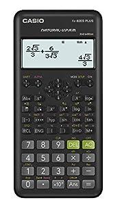Casio FX-82ES PLUS-2 Calcolatrice scientifica, 252 funzioni, 11 x 77 x 162 mm, nero