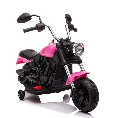 Lean Kindermotorrad elektrisch Easy Rider Chopper Pink Elektromotorrad 6V Motorrad Kinder rosa
