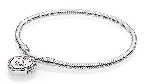 Pandora Women Silver Charm Bracelet - 596586fpc-21