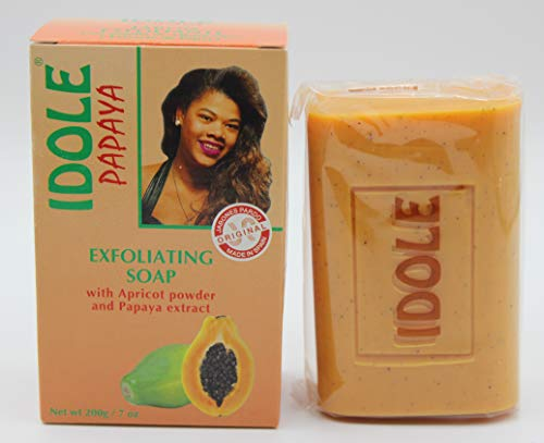 IDOLE - Papaya Exfoliating Soap - 200g