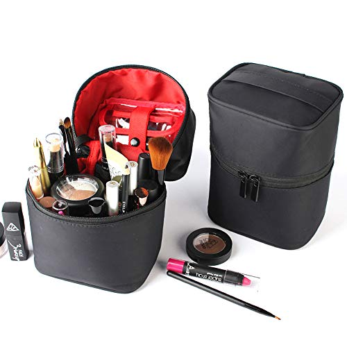 Longjet Toiletry Bags Travel Makeup Bag Train Case Makeup Organizer