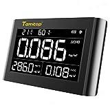 Monitor de calidad del aire interior Temtop M1000, Probador para inquilinos y propietarios de sistemas de climatización: medida PM2.5 HCHO TVOC, ✩Garantía de tres años✩