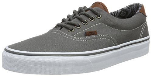 Vans ERA 59 (C&L) Pewter/Italian Weave Skateboard Shoes-Men 9.5, Women 11.0