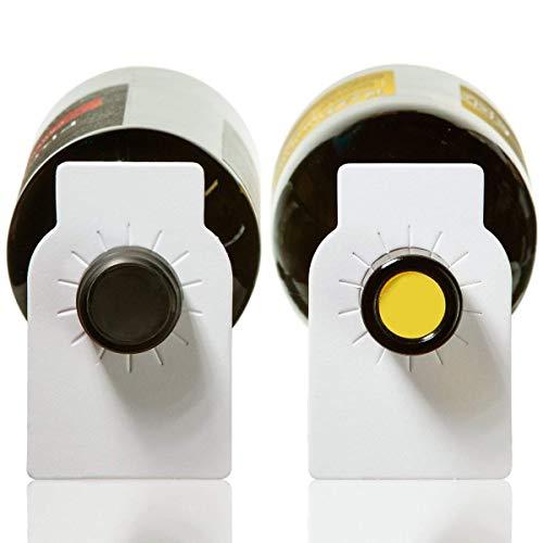 Wit papier wijn fles trefwoorden - 100 tellen gewoon papier wijn kelder etiketten