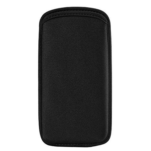 ZZJ 5.2 Inch Universal Cellphone Protective Sleeve Compatible for Apple iPhone 11 Pro/Samsung Galaxy S10e / LG Aristo 3 / Tribute Empire/Phoenix 4 / Google Pixel 3 / Alcatel Tetra/Verso