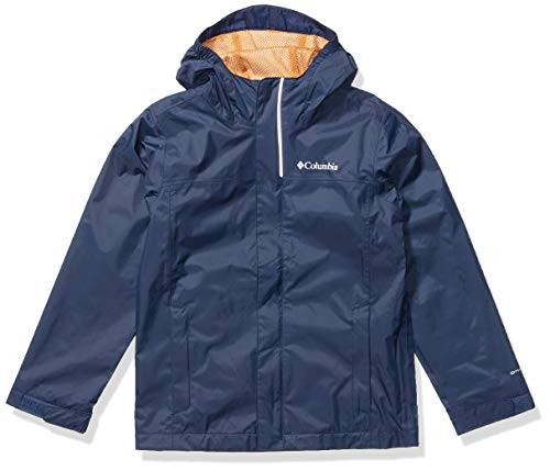 Columbia Boys' Big Watertight Jacket, Waterproof and Breathable, New Collegiate Navy, M