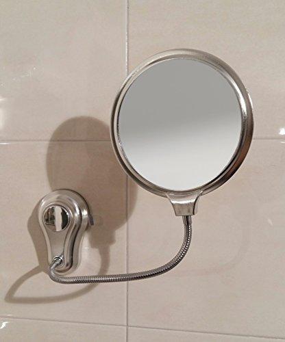 Le miroir grossissant avec ventouse Arredobagnoecucine