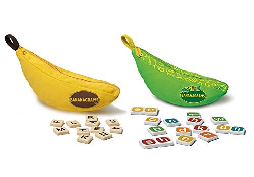 Bananagrams Bundle: Classic and My First Bananagrams Plus a Tote Bag