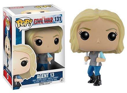 Captain America: Civil War Agent 13 Pop! Vinyl Figure by Civil War