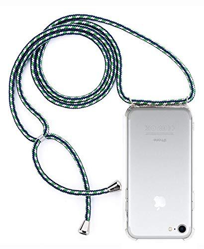 simplecase Crossbody Phone Case Necklace, mobiele telefoon ketting, geschikt voor iPhone 7/8, groen #2