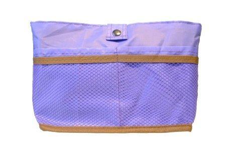 Periea Handtaschenordner, Einlage, Einsatz 12 Taschen wendbar 27x16x7cm- Kendra lila