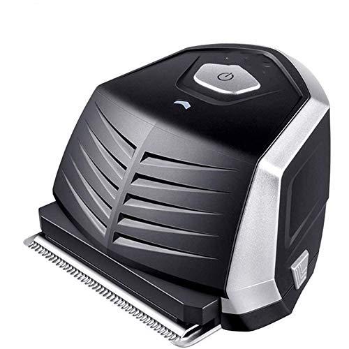 Drahtlose Elektrische Haarschneider, Profi-Haarschneidemaschine Für Männer Li-Ionen-Akku-Leistung Dauerhafte Wiederaufladbare Sharp Carbon Steel Klinge Hair Cut,Schwarz