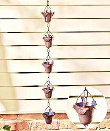 Ct Discount Store Decorative Iron Bird Rain Chain