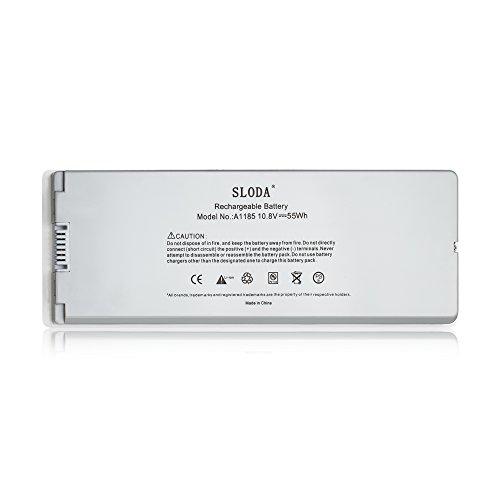 SLODA Batterie de Remplacement pour Macbook 13\