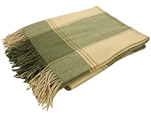 AUTHENTIC IRISH: This Irish wool blanket is meticulously crafted using techniques that have been handed down through multiple generations within the Hanly family in Co. Tipperary, Ireland. QUALITY IRISH MATERIALS: Made with 100% lambswool, this Irish...