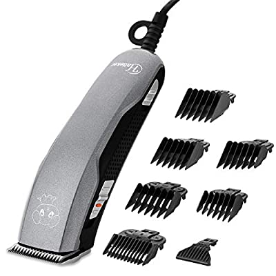 Hatteker Dog Shaver Clippers 36V High Power Dog Clipper for Thick Heavy Coats Low Noise Plug-in Pet Trimmer Pet Grooming Clippers for Dogs Cats